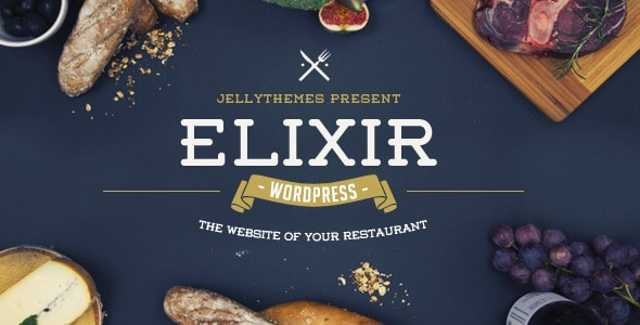 Elixir - Plantillas WordPress para restaurantes