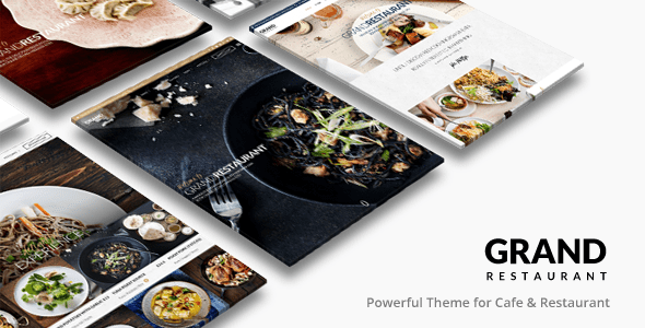 Grand Restaurant - Plantillas WordPress para restaurantes