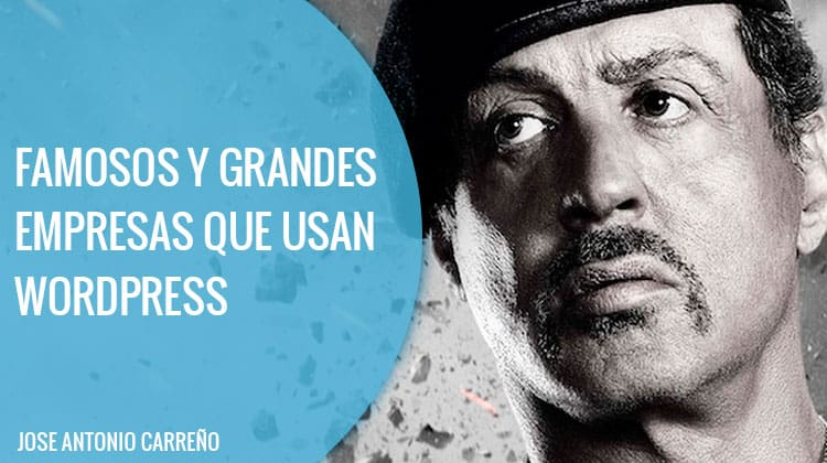 Famosos que usan Wordpress
