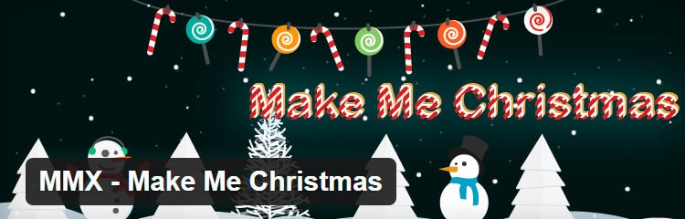 MMX Make me Christmas - Plugins WordPress para Navidad