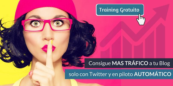 Curso Twitter for Bloggers