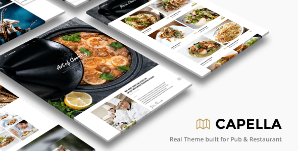 Capella - Plantillas WordPress para restaurantes