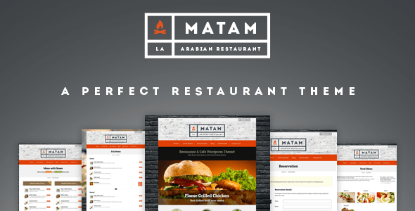 Matam - Plantillas WordPress para restaurantes