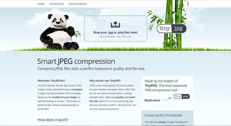 Comprimir fotos con TinyJPEG