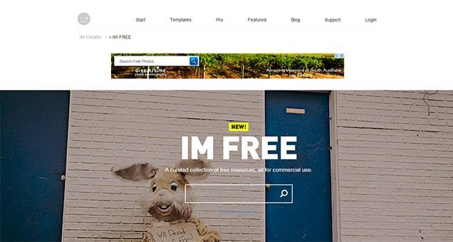 Bancos de imagenes gratis - IMFree