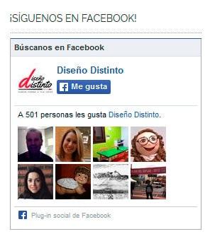 Cambiar Facebook Like Box 1