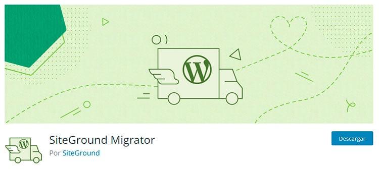 Clonar pagina web con Siteground Migrator