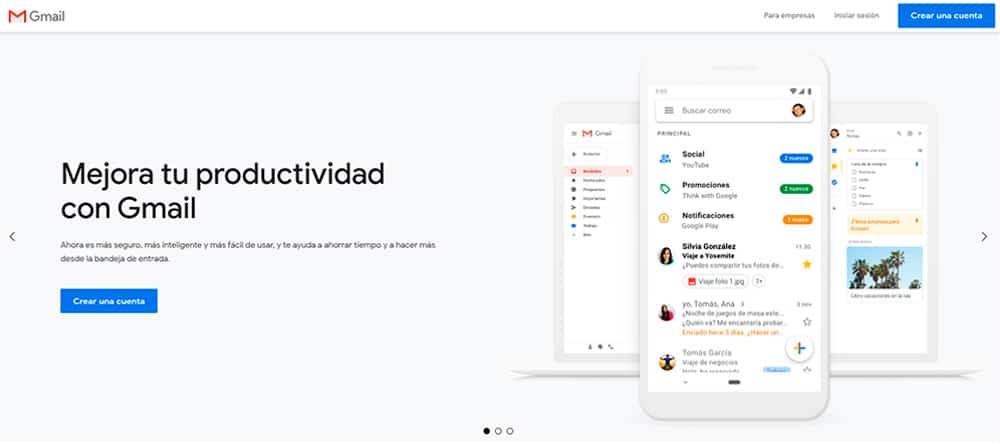 Cómo configurar un correo corporativo en Gmail