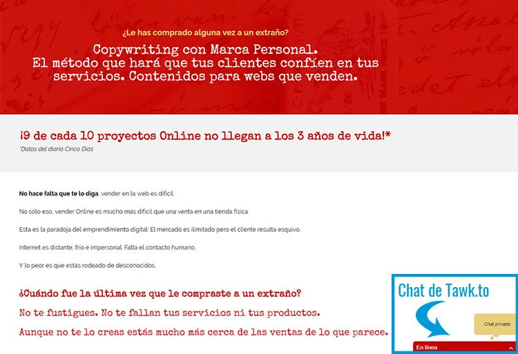 Cómo instalar un chat en WordPress con Tawk.to.