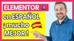 Cómo poner Elementor en español.