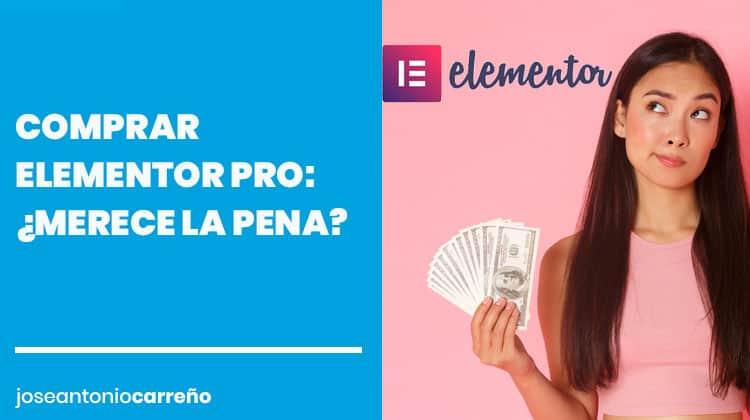 Comprar Elementor Pro.