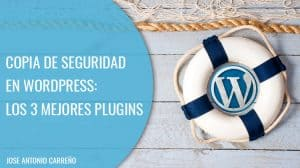 Copia de seguridad en Wordpress.
