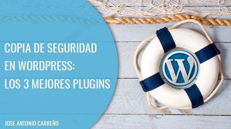 Copia de seguridad en WordPress.