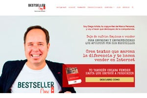Diseñador web WordPress de Bestseller Copy