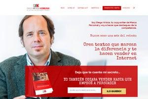 Diseñador web WordPress de Diego Artola.
