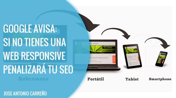 Diseño web responsive - Google
