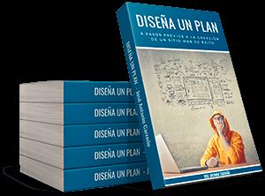 Ebook para planificación profesional de un sitio web.