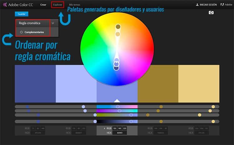 Elementos claves en el diseño web. Los colores.
