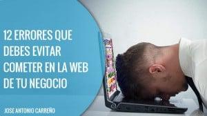 Errores en la web de tu negocio
