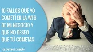 Fallos en webs para negocios