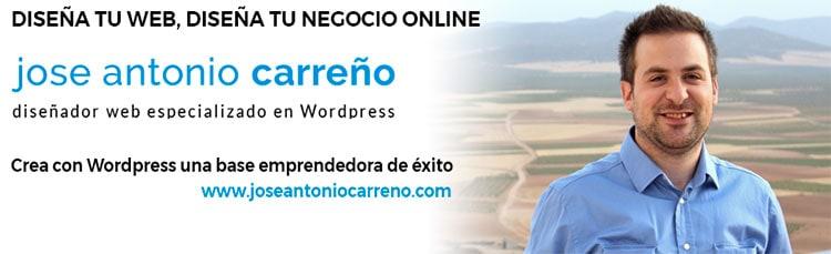 Grupo de Facebook sobre diseño web en WordPress y negocios online.