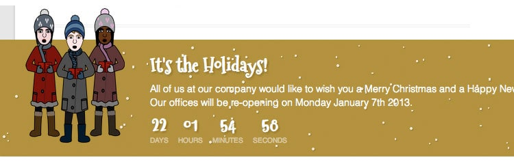 Holiday Messages - Plugins WordPress para Navidad