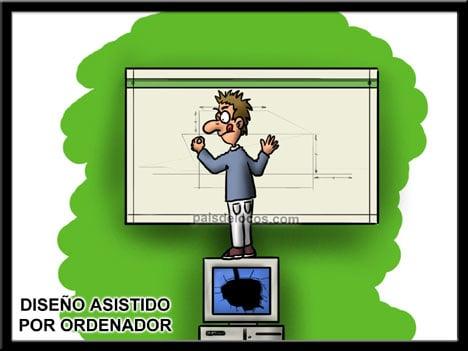 Humor Gráfico sobre diseño web y grafico 24