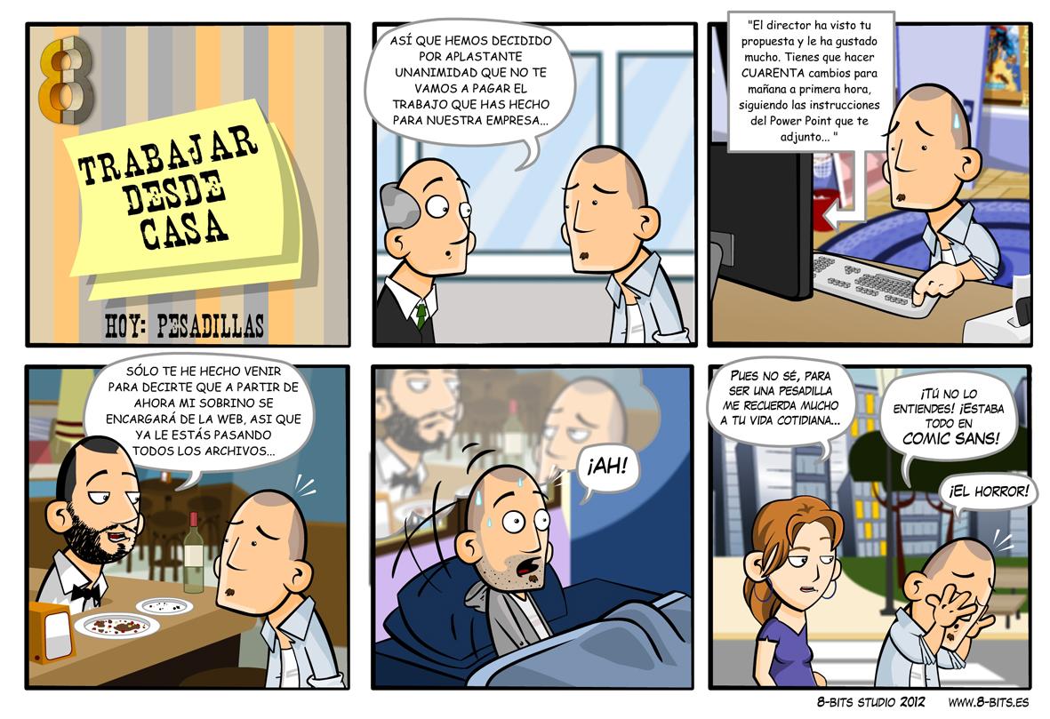 Humor Gráfico sobre diseño web y grafico 26
