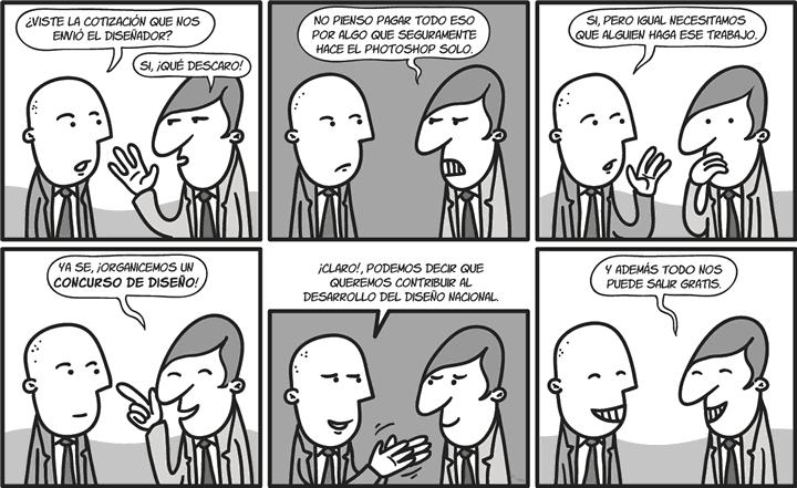 Humor Gráfico sobre diseño web y grafico 30