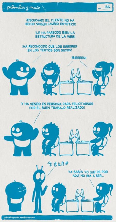 Humor Gráfico sobre diseño web y grafico 35