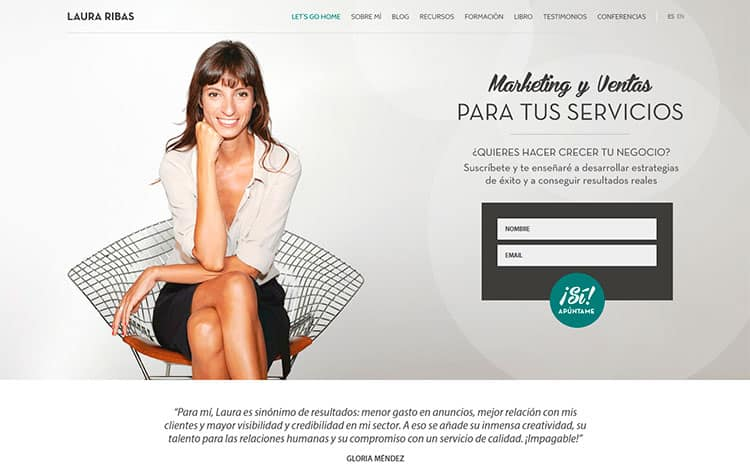 Laura Ribas - Mejores blogs de negocios