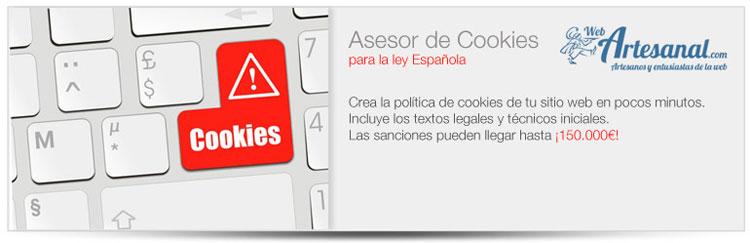 Los mejores plugins para WordPress: Asesor de cookies para normativa española.
