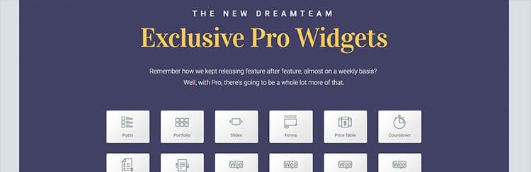 Los mejores plugins para WordPress: Elementor Pro.