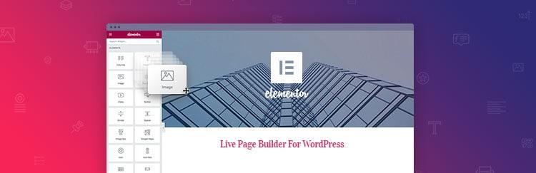 Los mejores plugins para WordPress: Elementor.