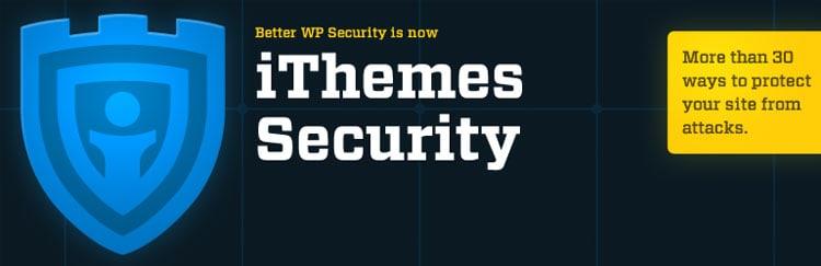 Los mejores plugins para WordPress: Ithemes Security.