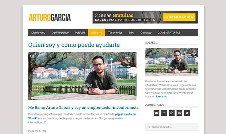 Mejores Blogs sobre WordPress - Arturo García