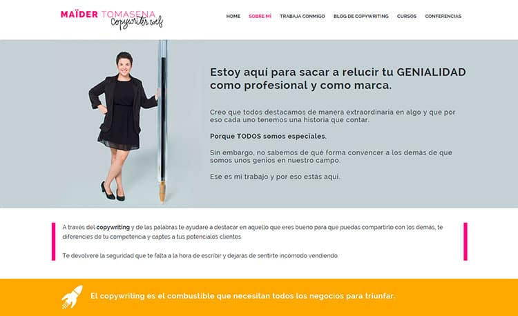 Mejores blogs de marketing - Maider Tomasena