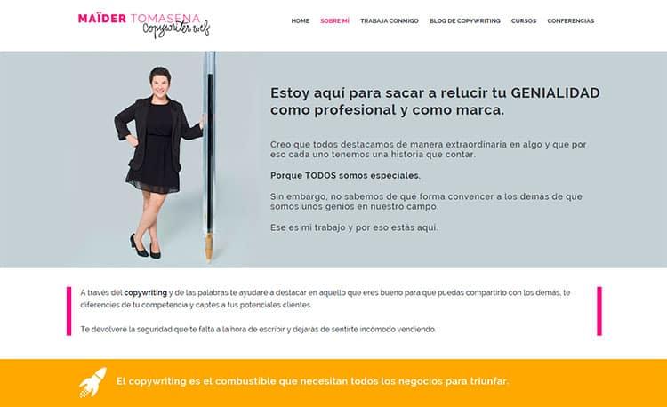 Mejores blogs de marketing - Maider Tomasena