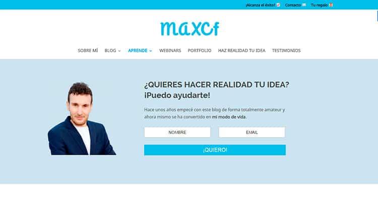 Mejores Blogs sobre WordPress - Max Camuñas