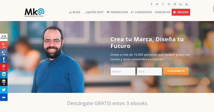 Mejores blogs sobre marketing online - Miguel Florido
