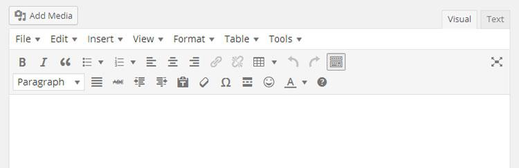 Mejores plugins WordPress: TinyMCE Advanced