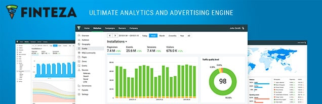 Plugin para WordPress de analítica web Finteza