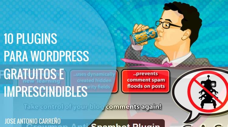 10 plugins para WordPress gratuitos e imprescindibles