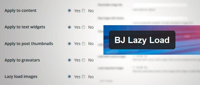 Plugins SEO para WordPress: BJ Lazy Load
