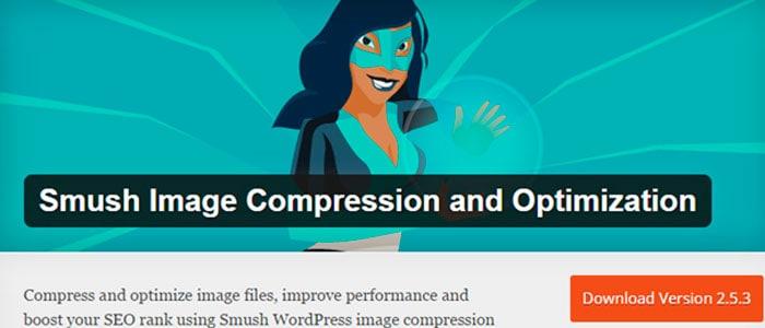 Plugins SEO para WordPress: Smush it.