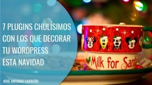 Plugins Wordpress para decorar tu web en Navidad
