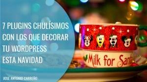 Plugins Wordpress para decorar tu web en Navidad