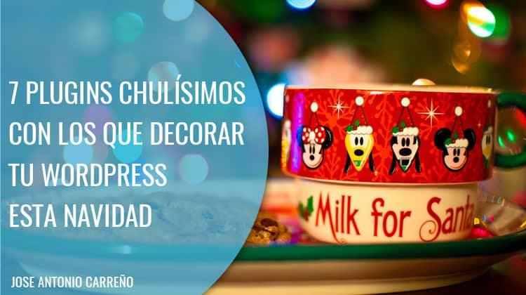 7 plugins chulísimos con los que decorar tu WordPress esta Navidad