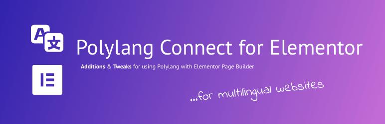 Polylang con Elementor para crear web multiidioma.