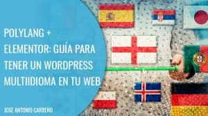 Polylang: plugin para crear un WordPress multiidioma.